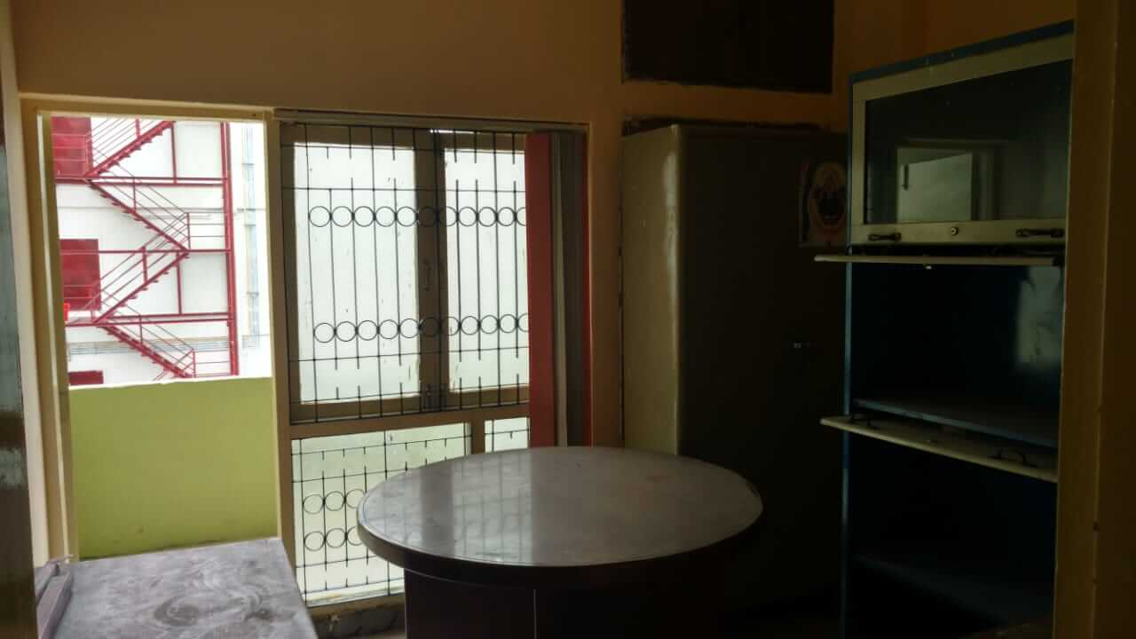 1100 square feet Commercial office space for rent on Panjagutta main road.