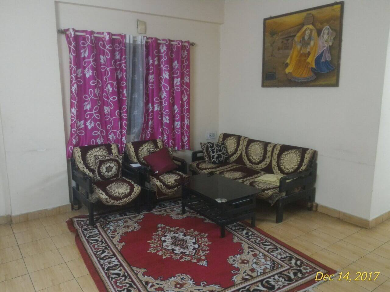 Full furnished flat near bagmane tech park cv Raman nagar bangalore