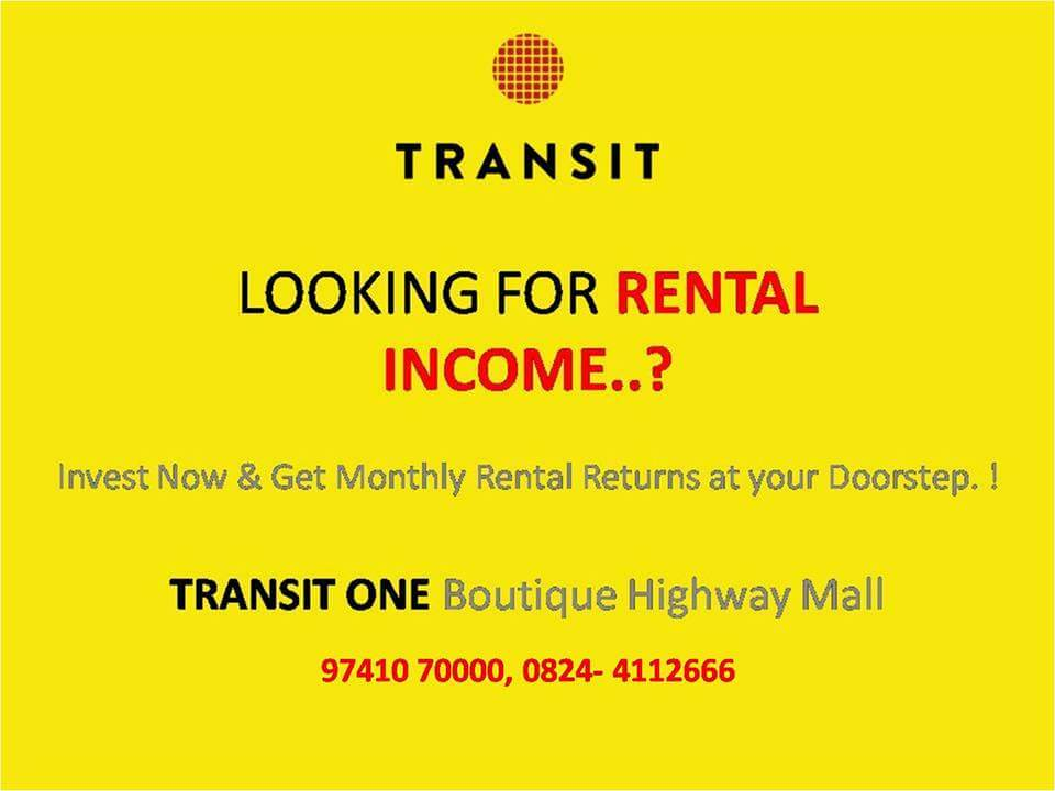 Huge discounts & Rental assurance on  Shops at Transit One Boutique Highway Mall.