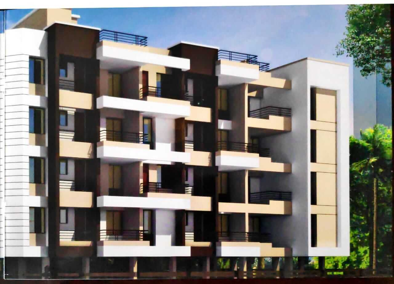 2 BHK Apartment / Flat for Sale 843 Sq. Feet at Pune, Wagoli