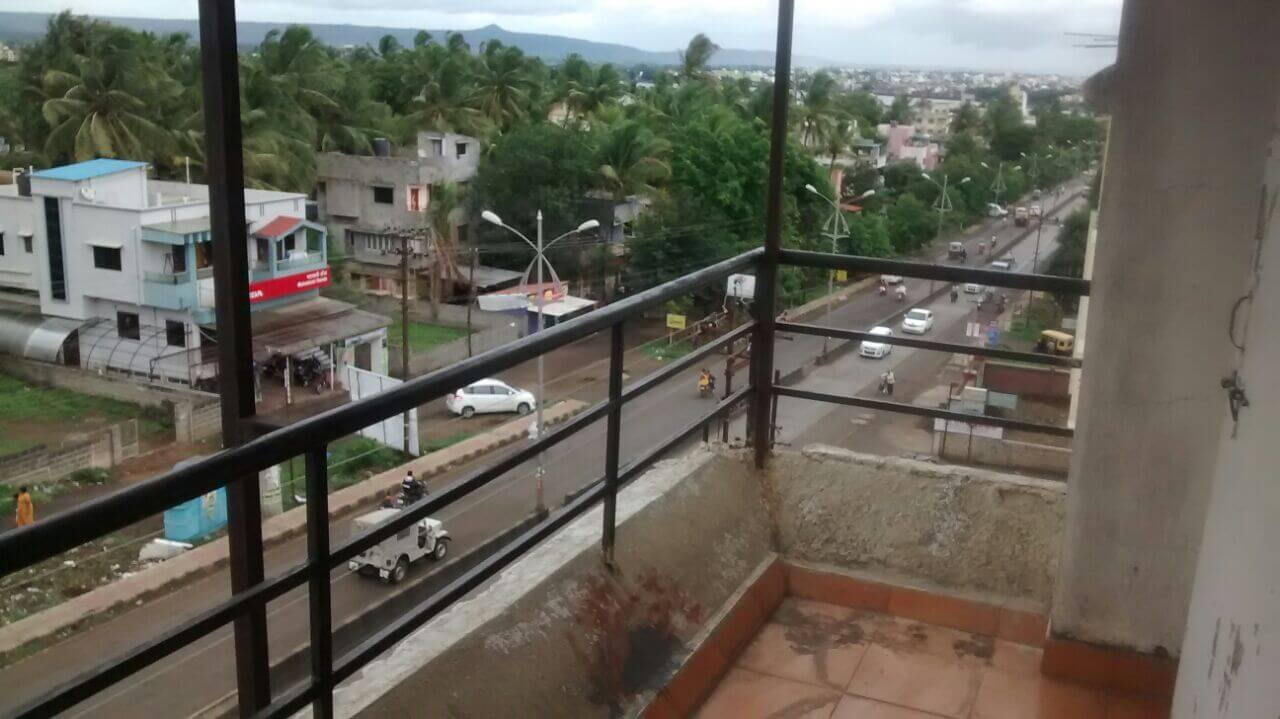 Lake and Hill View, West Facing, Road Touch 2  BHK Flat For Sale
