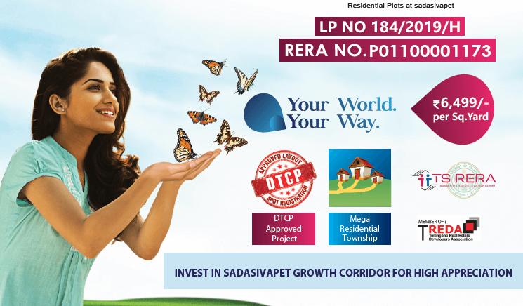 Residential Plot / Land for Sale 200 Sq. Yards at Hyderabad, Sadashivpet