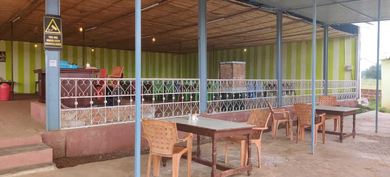 Fully furnished and running - Open Restaurant For Rent In Sadashivpet At 60k per month.