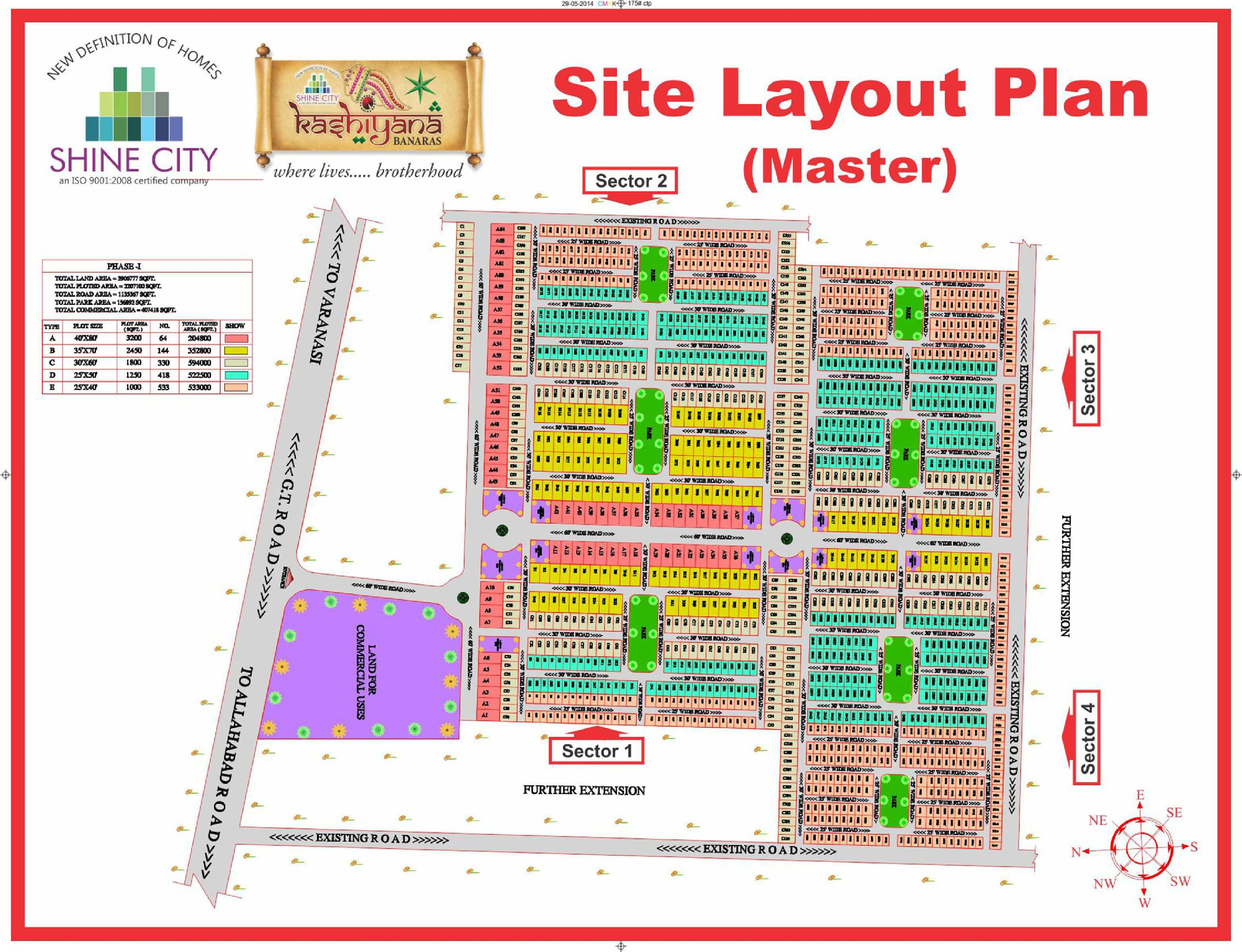 Residential Plot for Sale in kashiyana Project, Rajatalab, Varanasi, U P