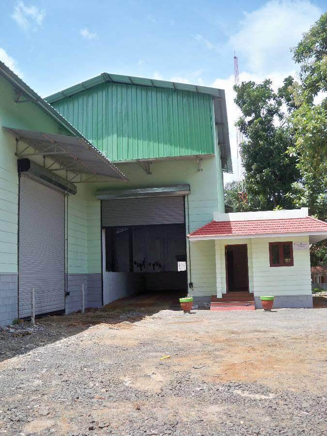 Warehouse for lease at Kottayam- Immediate Possession!