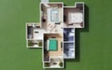 FLAT FOR SALE IN VVIP ADDRESSES RAJNAGAR EXTN AT NEGOTIABLE PRICE