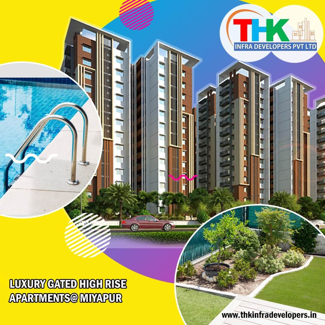 3 BHK Apartment / Flat for Sale 1940 Sq. Feet at Hyderabad