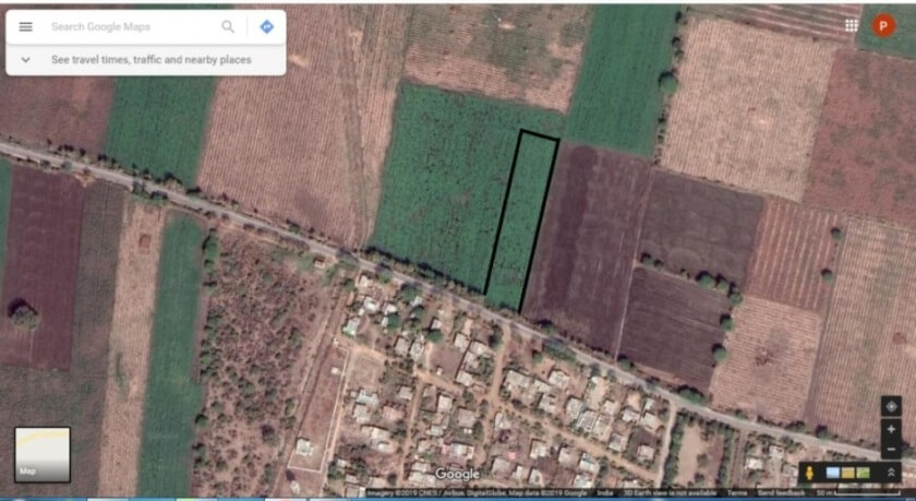 3.5 acre road touch land for sale. Nandpur  to rajapur road, Arvi, Wardha,Maharshtra