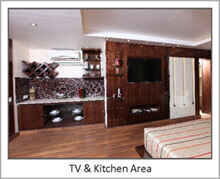it is studio apartment at puri.(india)facilities of 5 star hotel.u are buying a property from 5 star hotel