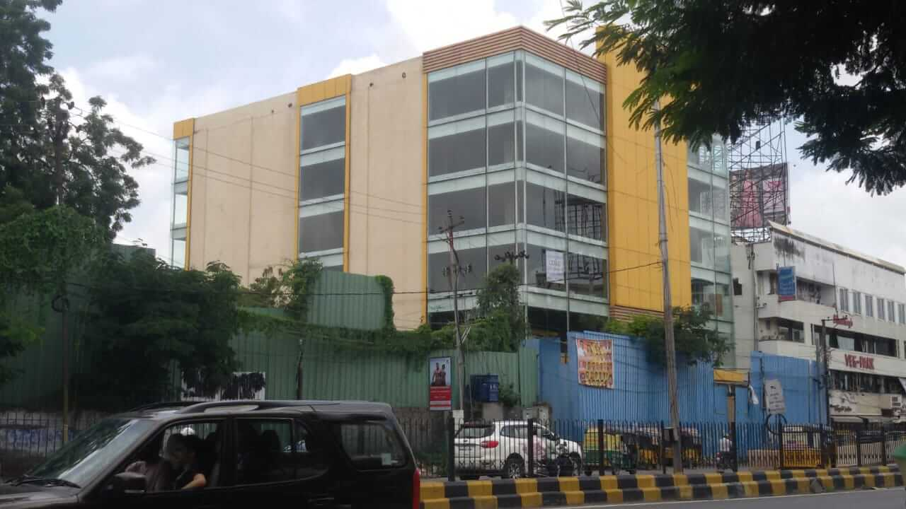 g+5 with 2 basement parking commercial property at basheerbagh main road