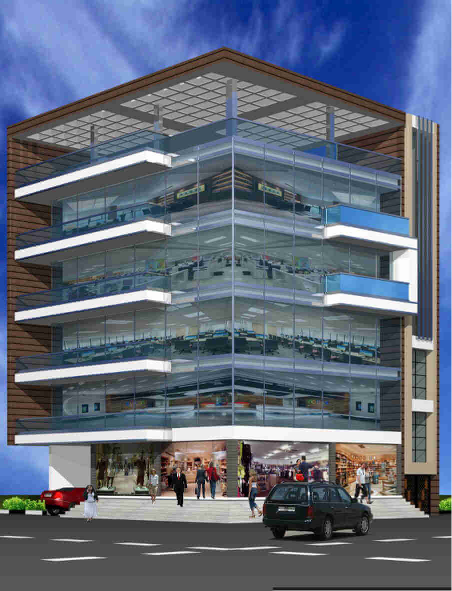 Commercial Property for Rent at Mehdipatnam X Roads with two side Roads