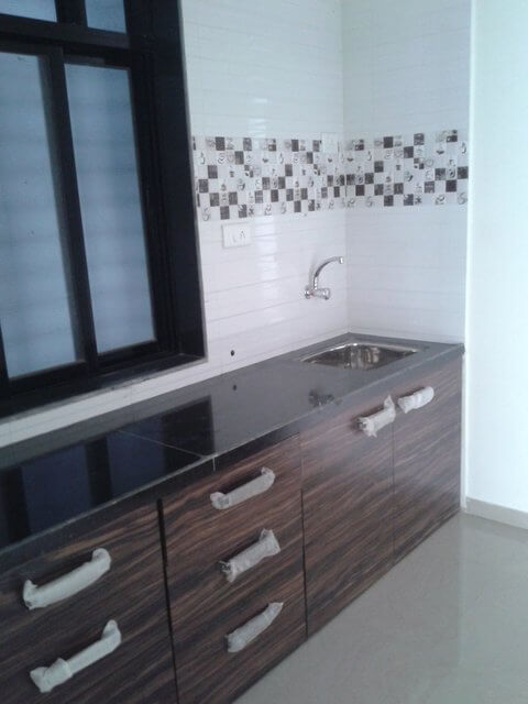1BHK with master bedroom, Modular kitchen, balcony located on 7th floor of 14 floor Tower
