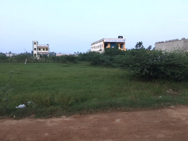 Land for sale situated in Vilankandupakkam, Madhavaram. Nearby School