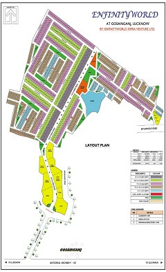 residential plot for sale  in sultanpur road gosaiganj lucknow