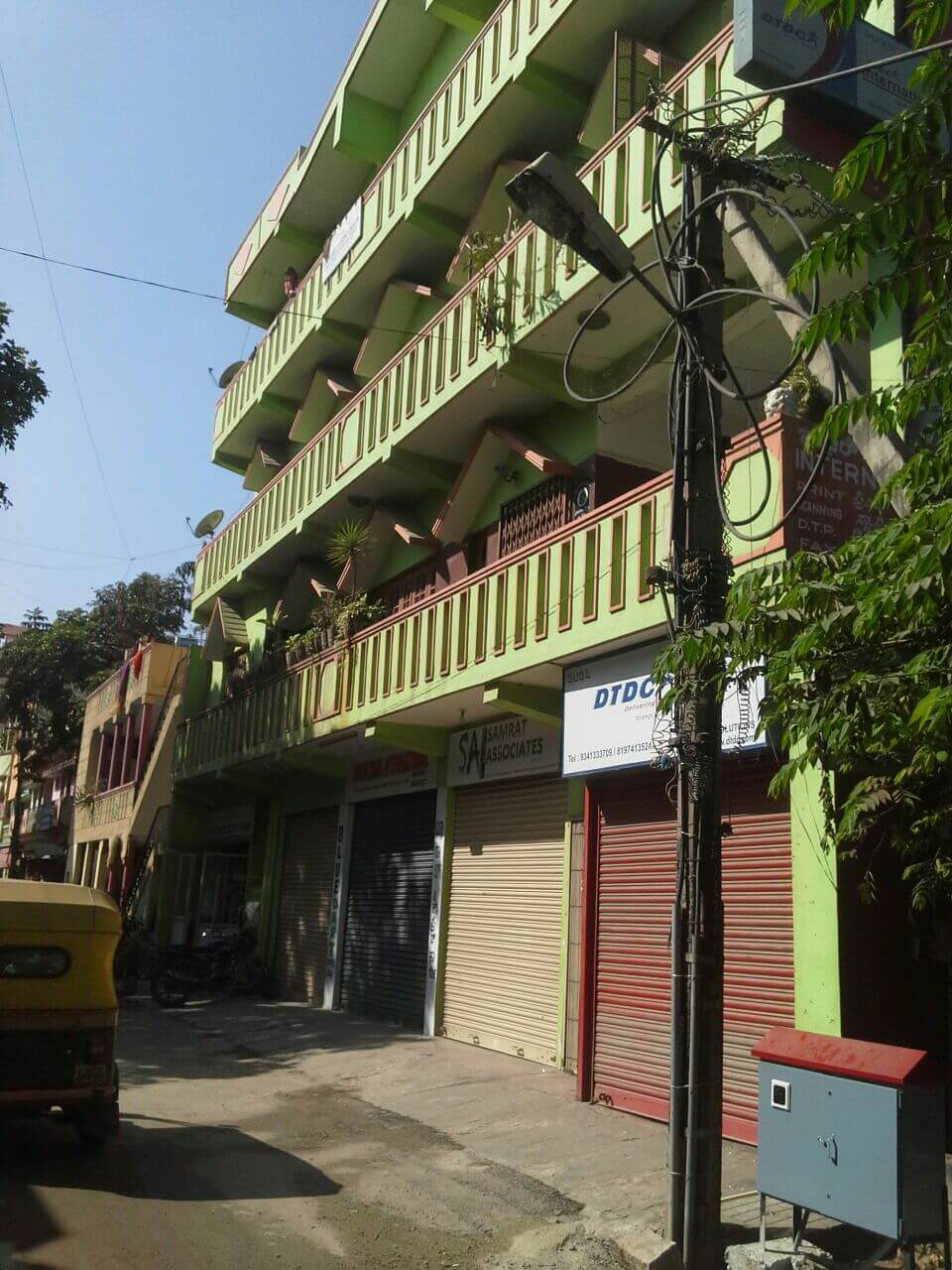 Duplex House or Commercial purpose space for Rent in Nandini Layout.