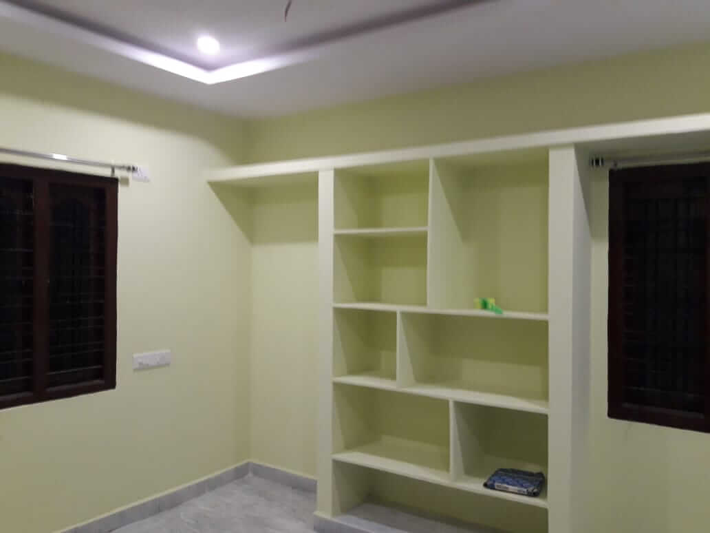 2BHK new independent house with dining room and car parking fall ceiling and 24 hrs water