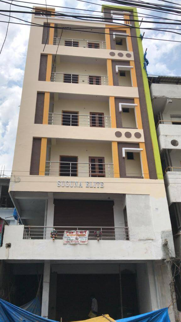 2 BHK Apartment / Flat for Rent 1265 Sq. Feet at Hyderabad, Jubilee Hills