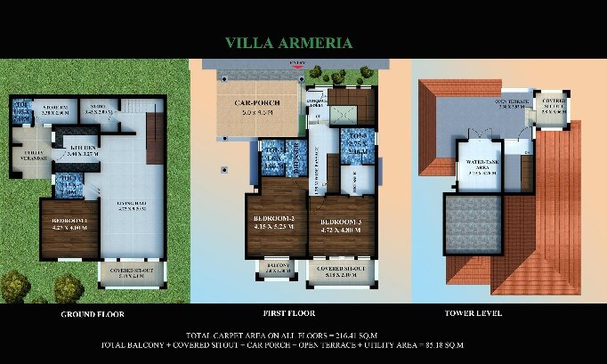 Estilo Patio is one of the residential developments of Estilo Moderno Realty. It offers spacious and skilfully designed 3BHK villas