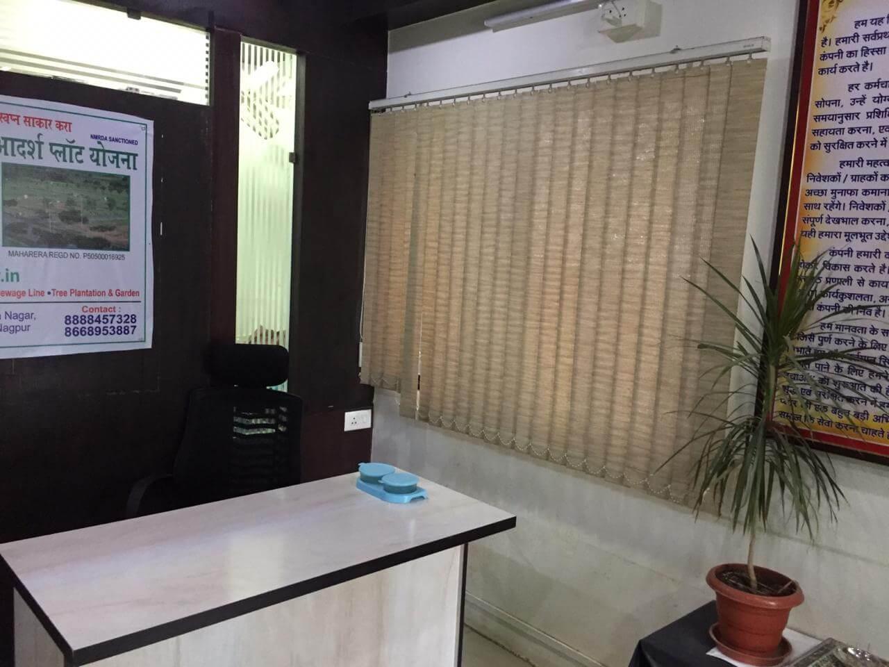 Office Space for Rent 1100 Sq. Feet at Nagpur, Narendra Nagar