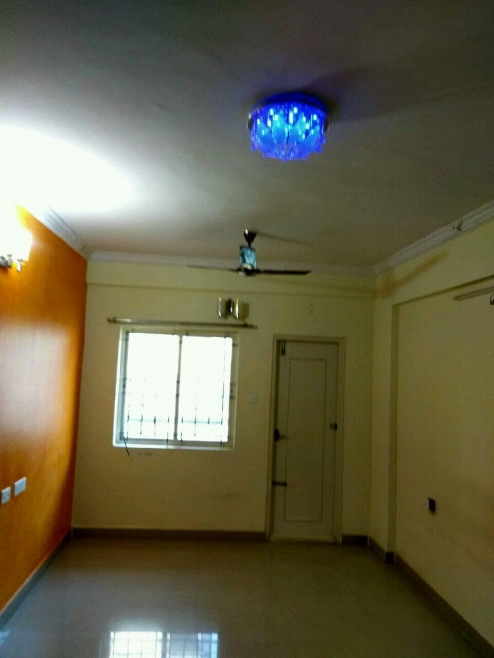 For Rent, 3 BHK, Semi- Furnished, Mahaveer Varna appts., Kadugodi, Bangalore