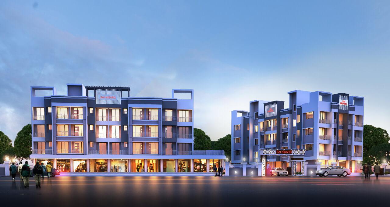 1 BHK Apartment / Flat for Sale 670 Sq. Feet at Karjat