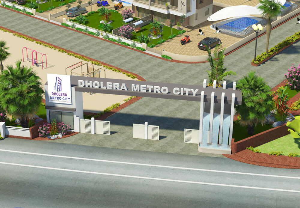 Dholera SIR Residential plots for the Future investment India