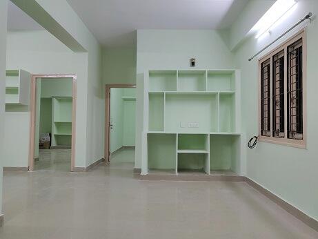 2BHK flat for rent in Pragathi nagar, Kukatpally for families