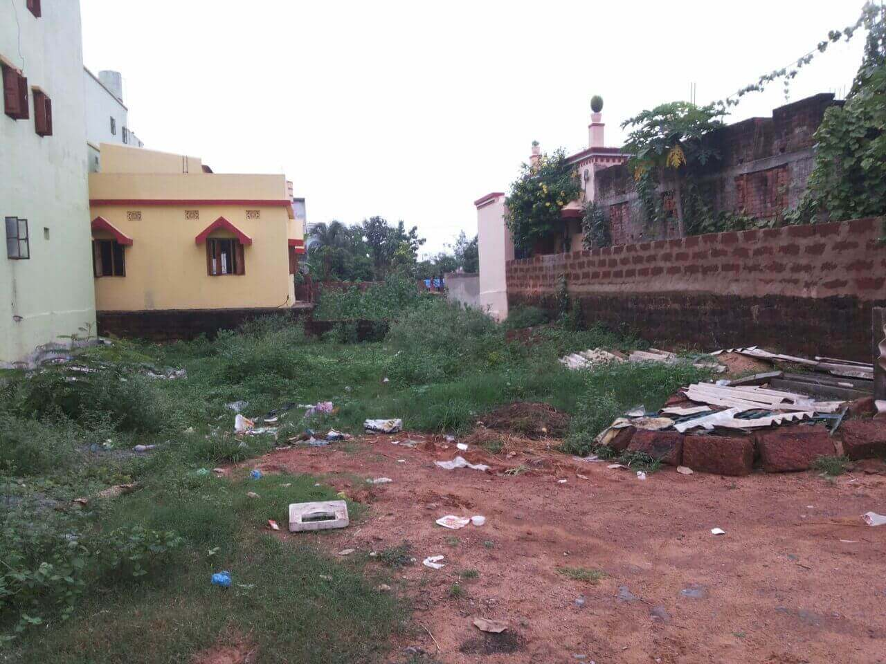 2500 SQFT BDA YELLOW ZONE GHARBARI PLOT SALE IN SAMANTRAPUR, BHUBANESWAR.