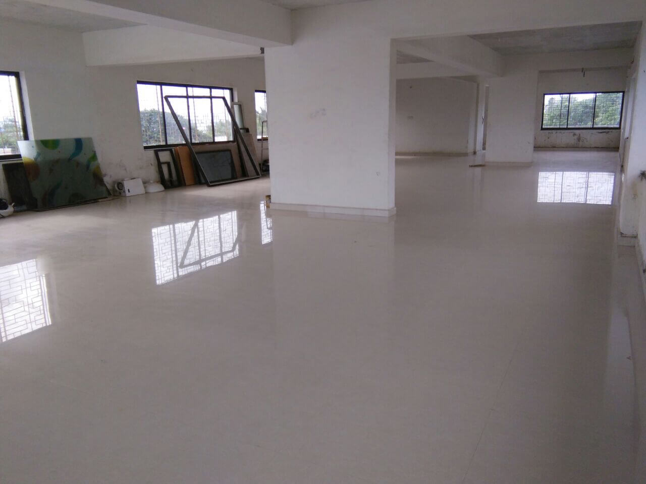 Un Furnished Commercial Floor Office for  rent - ideal for Back Office