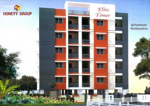Newly Build Apartment or Flats 1100 sqt size Sales at  Vizag at Elite towers towers yendada