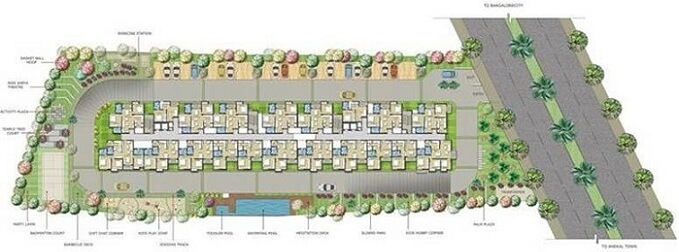 subha 9 sky vue 1bhk appartment in chandapura anekal road opposite to big market