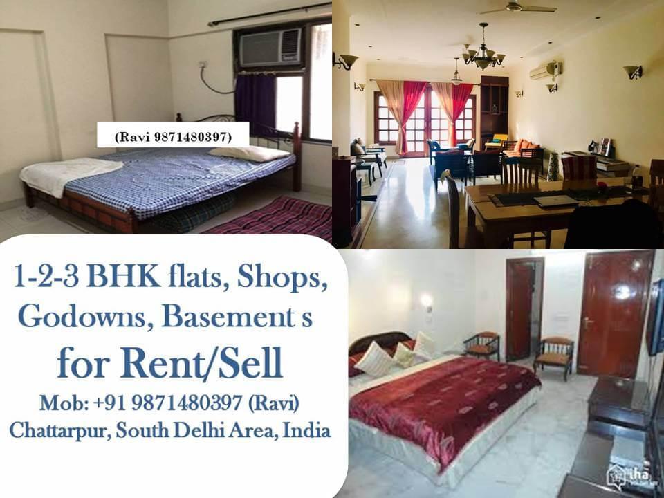 2 BHK Apartment / Flat for Rent 999 Sq. Feet at Delhi, Co-operative Colony