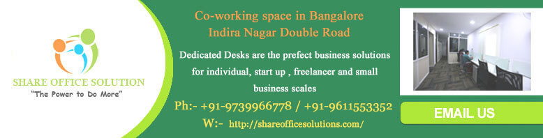 be a part of sharing office space AVAIBLE FOR RENT IN ULSOOR BANGALORE