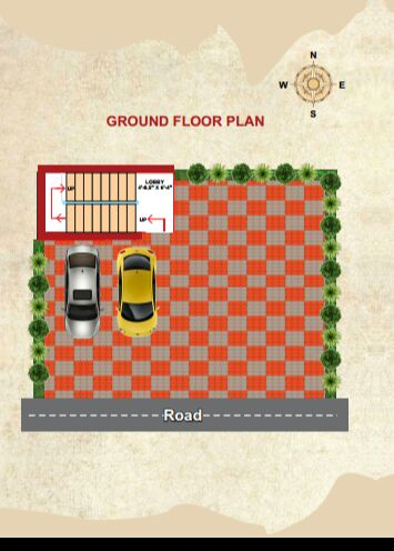 2 bhk flats for sale at Santhosh nagar, Kolathur, Only two flats