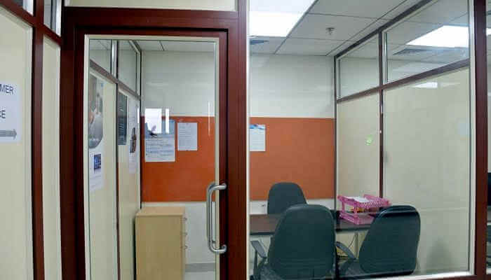 Office Space for Rent 500 Sq. Feet at Chennai, Thousand Lights