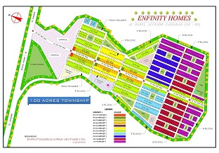 residential plot for sale In lucknow city - ENFINITY HOMES IN FAIZABAD ROAD