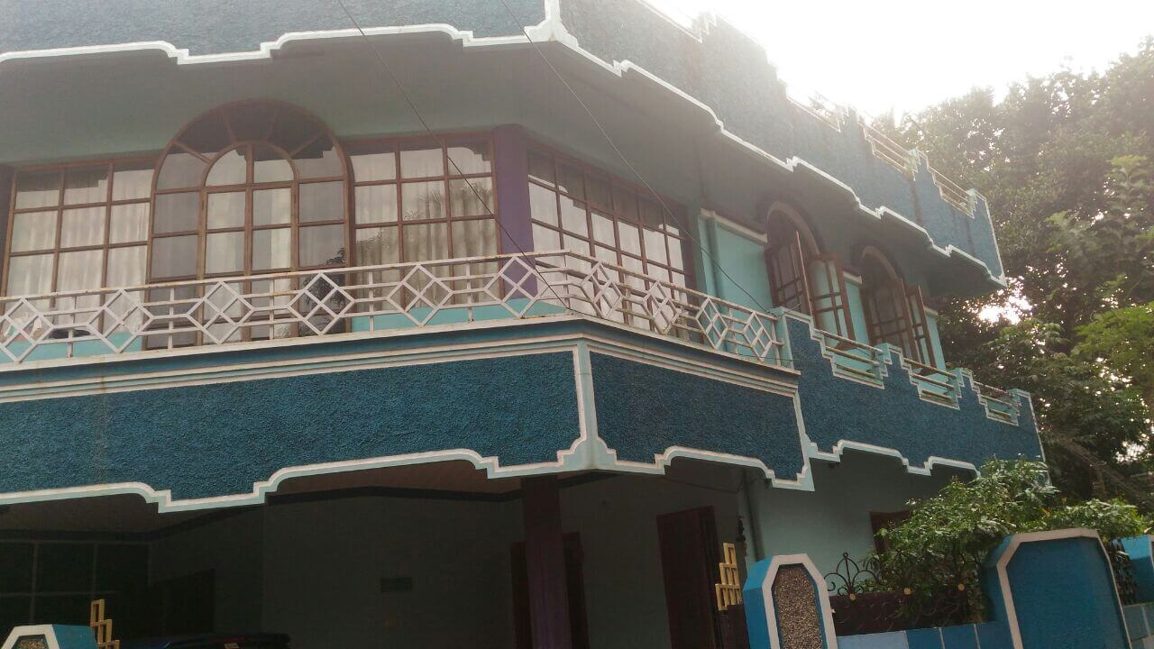 15 cent plot. with double storied house in kottriyam for sale